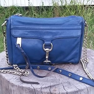 Rebecca Minkoff Blue Leather Crossbody